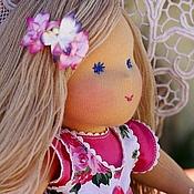 """Куклы и игрушки ручной работы. Ярмарка Мастеров - ручная работа вальдорфская кукла """"Виктория"""" - 36см. Handmade."""