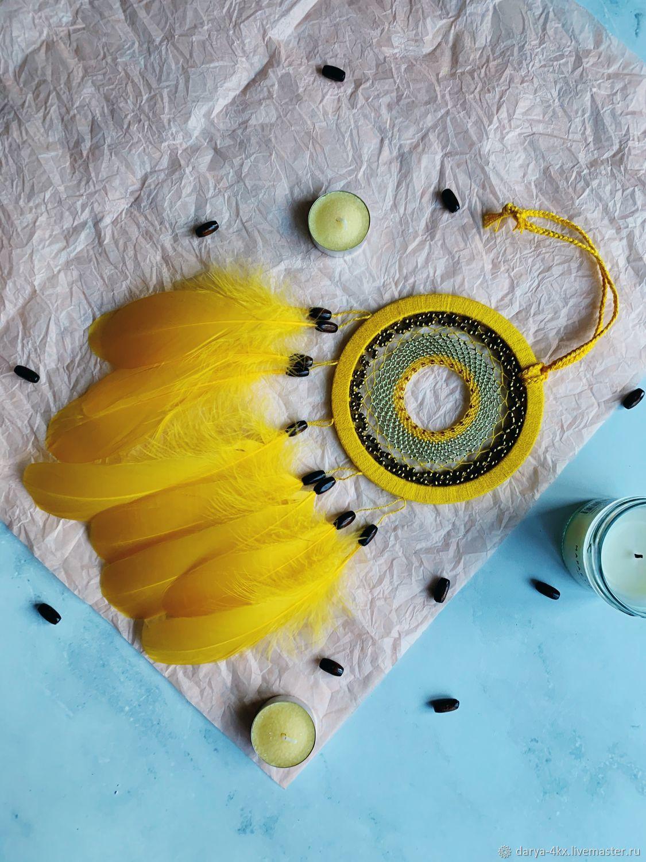 Dreamcatcher Yellow, Dream catchers, Kingisepp,  Фото №1