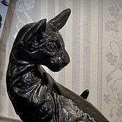 Для дома и интерьера handmade. Livemaster - original item Interior sculpture Oriental cats. Handmade.