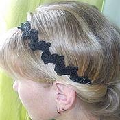 Аксессуары ручной работы. Ярмарка Мастеров - ручная работа Хайратник, повязка на волосы. Handmade.