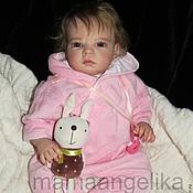 Куклы и игрушки ручной работы. Ярмарка Мастеров - ручная работа кукла реборн Юля(молд Сабрина). Handmade.