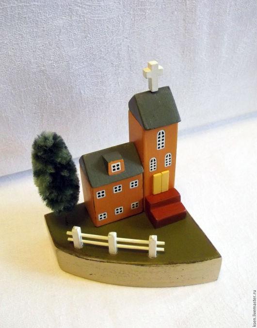 Миниатюрные модели ручной работы. Ярмарка Мастеров - ручная работа. Купить миниатюра. Handmade. Комбинированный, миниатюра домик, интерьерная композиция