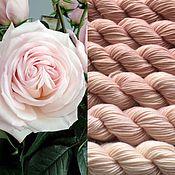Материалы для творчества ручной работы. Ярмарка Мастеров - ручная работа Градиент.100% меринос superwash ручной окраски- Tea rose. Handmade.