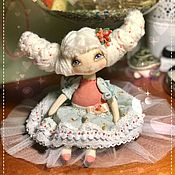 Куклы и игрушки ручной работы. Ярмарка Мастеров - ручная работа Текстильная кукла Лилу. Handmade.