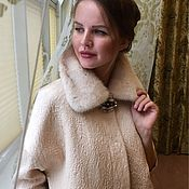 """Одежда ручной работы. Ярмарка Мастеров - ручная работа Пальто """" Карамель"""". Handmade."""