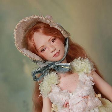 Куклы и игрушки ручной работы. Ярмарка Мастеров - ручная работа Куклы: Мисс Мери Энн. Фарфоровая шарнирная кукла. Handmade.