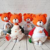 Куклы и игрушки handmade. Livemaster - original item Tiger Semyon. Symbol of the year 2022. Handmade.