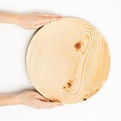 Посуда handmade. Livemaster - original item Wooden dish plate Siberian Cedar dishes for kitchen #T108. Handmade.