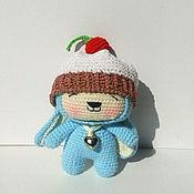 Куклы и игрушки ручной работы. Ярмарка Мастеров - ручная работа Зайки в шапках. Handmade.