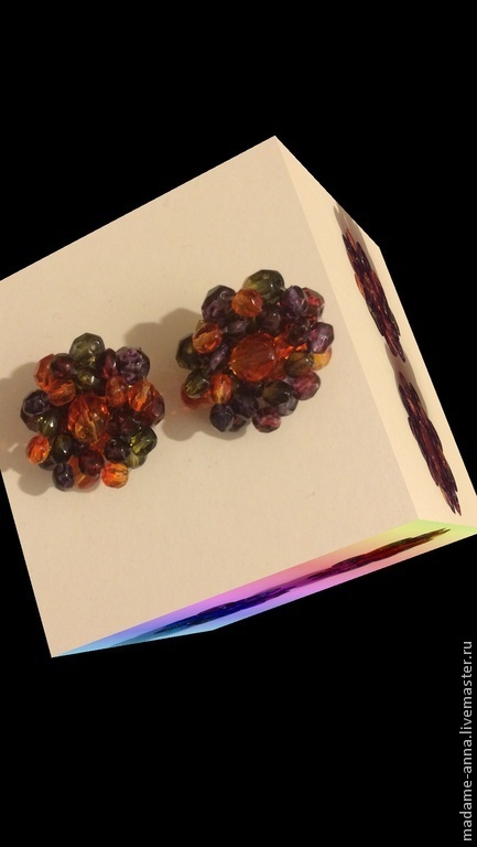 """Винтажные украшения. Ярмарка Мастеров - ручная работа. Купить Яркие клипсы """"Летние цветы"""" Joan Rivers (США), винтаж. Handmade."""