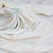 Аксессуары handmade. Livemaster - original item White handkerchief fabric multicolour Gucci Monogram. Handmade.