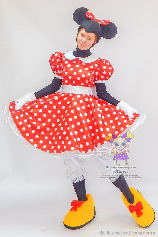 Minnie Mouse (classic). Scenic suit/Cosplay/Carnival costume, Suits, Vladivostok,  Фото №1