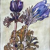 Картины и панно handmade. Livemaster - original item Watercolor herbarium. Charles Rennie Mackintosh, a copy of. Handmade.