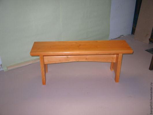 Мебель ручной работы. Ярмарка Мастеров - ручная работа. Купить Лавка из сосны. Handmade. Мебель из дерева