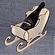 НГ-014. Подставка под шампанское. Заготовки для декупажа оптом и в розницу.