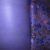 Материалы для творчества ручной работы. Ярмарка Мастеров - ручная работа Оксфорд водонипроницаемый с бабочками. Handmade.