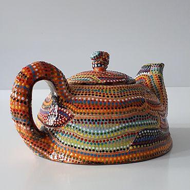 Посуда ручной работы. Ярмарка Мастеров - ручная работа Заварочный чайник. Handmade.