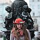 """Шляпы ручной работы. Заказать Шляпа """"Le rayon chaud de Saint-Petersbourg """" (Теплый луч Петербурга). Наталья Прокофьева (la-magie-spb). Ярмарка Мастеров."""