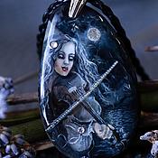 Украшения ручной работы. Ярмарка Мастеров - ручная работа ...Лунная скрипачка...кулон. Handmade.