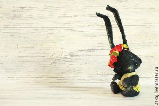 Мишки Тедди ручной работы. Ярмарка Мастеров - ручная работа. Купить Маковка. Handmade. Черный, зайка тедди, стеклянные глазки