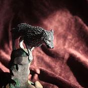 Куклы и игрушки ручной работы. Ярмарка Мастеров - ручная работа Фигурка Волк Сиф Dark Souls повтор. Handmade.