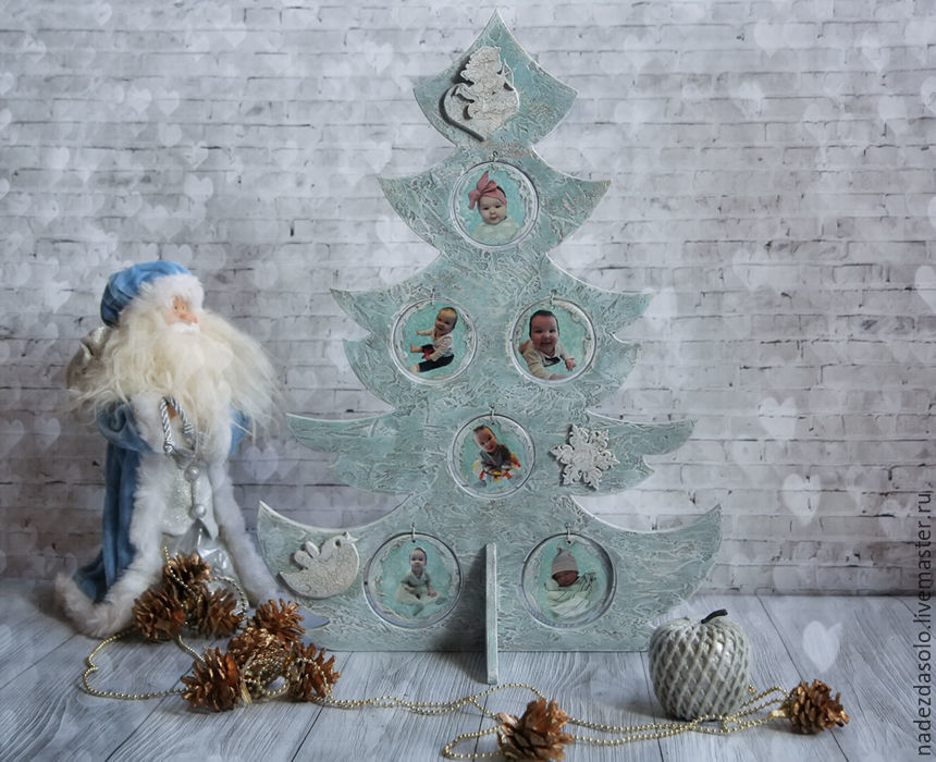 interior tree Our angel. tree decoupage, Interior elements, Khimki,  Фото №1