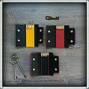 Сумки и аксессуары handmade. Livemaster - original item Key holder made of genuine leather bull. Handmade.