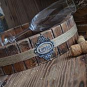Для дома и интерьера ручной работы. Ярмарка Мастеров - ручная работа «Легенда Пьемонта» Поднос из массива дуба. Handmade.