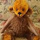 """Мишки Тедди ручной работы. Ярмарка Мастеров - ручная работа. Купить Мишка-тедди """"Джонни"""". Handmade. Коричневый, холлофайбер"""