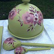 Для дома и интерьера handmade. Livemaster - original item Set of wooden dishes with painting. Handmade.