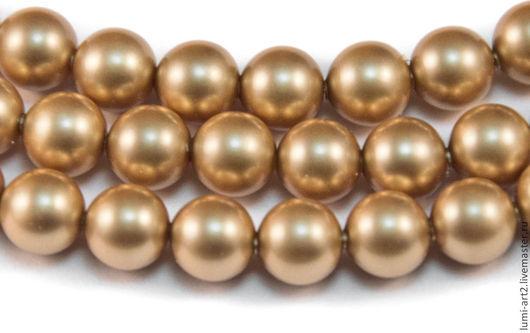 Для украшений ручной работы. Ярмарка Мастеров - ручная работа. Купить 6мм Vintage Gold Жемчуг Сваровски Swarovski Pearl 20 шт. Handmade.