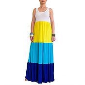Одежда handmade. Livemaster - original item Summer dress for overweight women, womens dress, dress boho. Handmade.