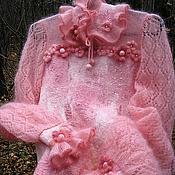 """Одежда ручной работы. Ярмарка Мастеров - ручная работа Джемпер """"Зимнее утро"""". Handmade."""