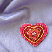 Украшения ручной работы. Ярмарка Мастеров - ручная работа Сердце на счастье. Handmade.