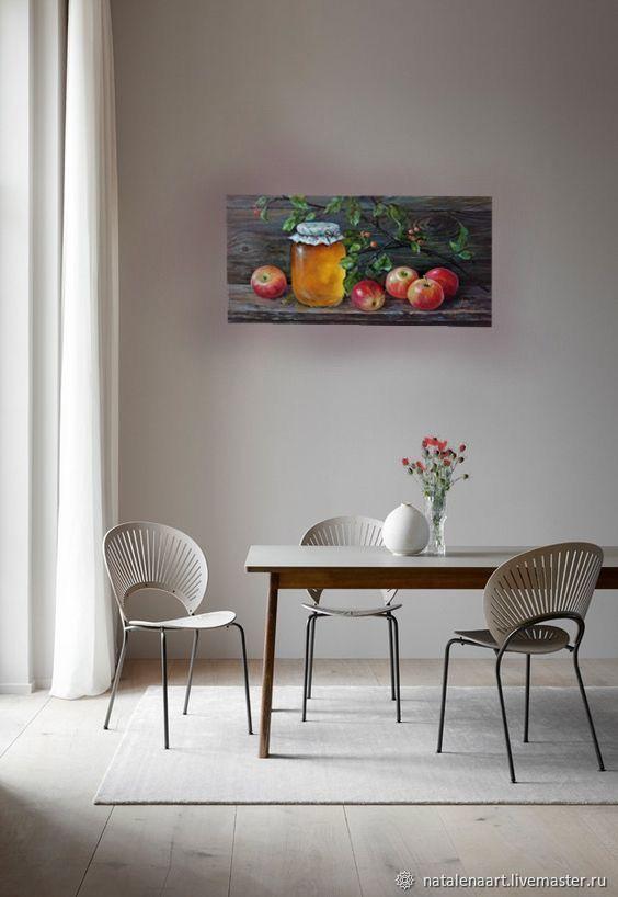 Картина натюрморт «Медовый спас». Фрукт натюрморт, Картины, Новосибирск,  Фото №1