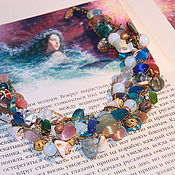 Украшения handmade. Livemaster - original item Beads Mermaid with vintage clasp. Handmade.