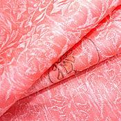 """Ткани ручной работы. Ярмарка Мастеров - ручная работа Японский шелк """"Цветочный орнамент"""". Handmade."""