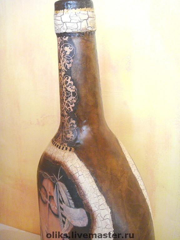Бутылочка декоративная