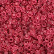 Материалы для творчества ручной работы. Ярмарка Мастеров - ручная работа Круглый 15/0 Miyuki 1606 Dyed Semi-matte Tr Rose  японский бисер Миюки. Handmade.