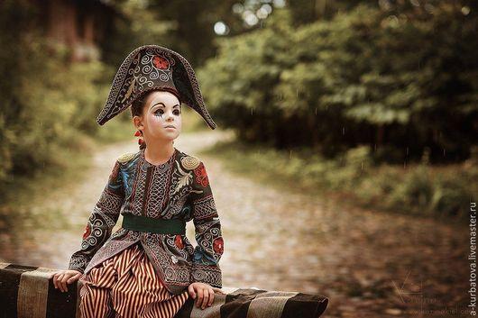 Детские карнавальные костюмы ручной работы. Ярмарка Мастеров - ручная работа. Купить Комплект для мальчика. Handmade. Костюм для мальчика, коломбина
