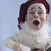 """Куклы и игрушки ручной работы. Ярмарка Мастеров - ручная работа """"Пьер"""" нашел дом. Handmade."""