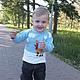Одежда для мальчиков, ручной работы. Заказать джемпер Жирафик вязаный детский авторский. Евгения  Черевкова (EvgeniaManKi). Ярмарка Мастеров. С аппликацией