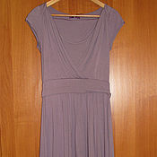 Винтаж handmade. Livemaster - original item New lilac dress by the French company One Step. Handmade.
