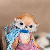 Куклы и игрушки ручной работы. Ярмарка Мастеров - ручная работа Котенок Тедди Фоксик маленький котенок. Handmade.
