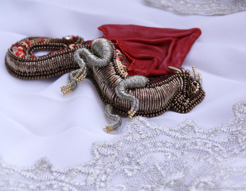 "Брошь ""Дракон Вита"", Брошь-булавка, Новочеркасск,  Фото №1"