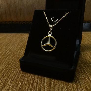 Аксессуары ручной работы. Ярмарка Мастеров - ручная работа Mercedes Benz Necklace. Handmade.