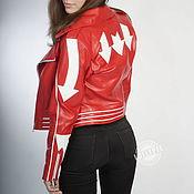 Одежда handmade. Livemaster - original item Women leather jackets. Handmade.