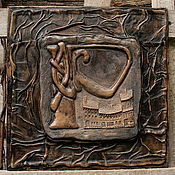 Для дома и интерьера ручной работы. Ярмарка Мастеров - ручная работа Кельтские литеры. Handmade.