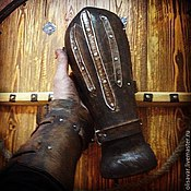 Субкультуры handmade. Livemaster - original item Bracers. Handmade.
