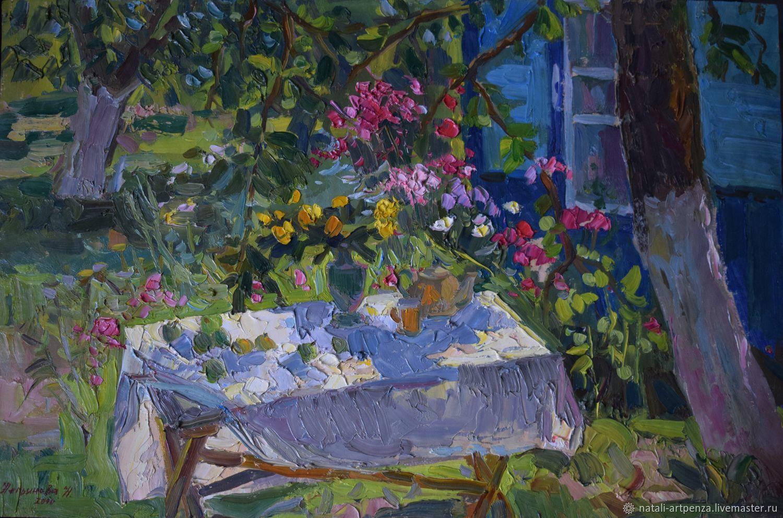 Утро в саду, Картины, Пенза, Фото №1